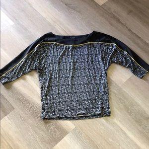 NWT Ann Taylor 3/4 sleeve blouse size small